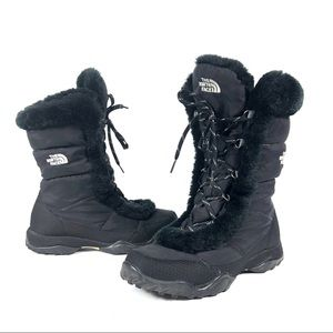 The North Face Goose Down snow winter boots warm